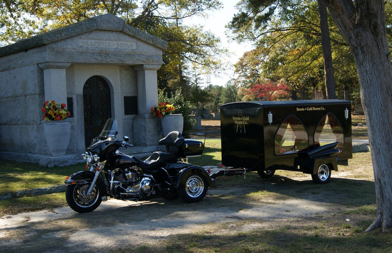 Harley Davidson Drawn Hearses